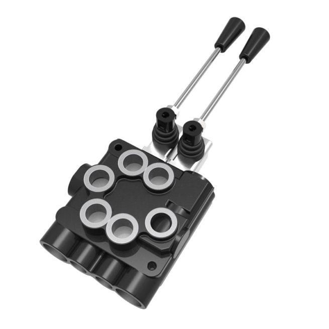 2 handle control valve transcover