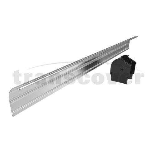 Headboard kit aluminium, Transcover