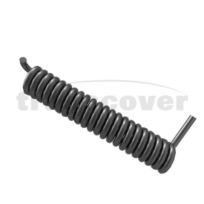 left hand 22 coil spring