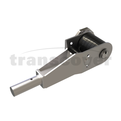 Steel Side Mounted Arm Spring Paddle For Tippers And Trailers
