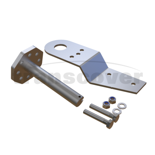 Steel Side Mounted Arm Spring Paddle Extension For Tippers And Trailers