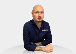 Transcover Employee Jon Product Supply Chain