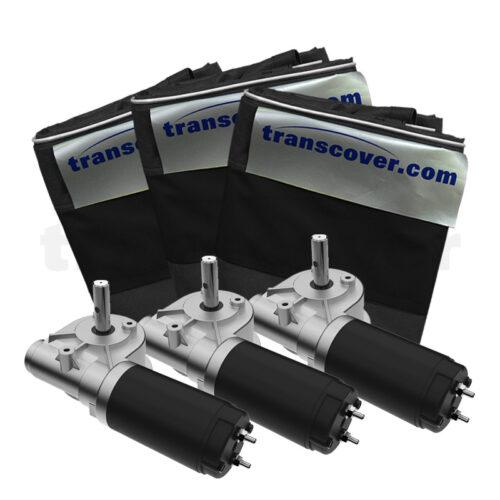 24V Electric Motors and Standard Duramesh Tarpaulin
